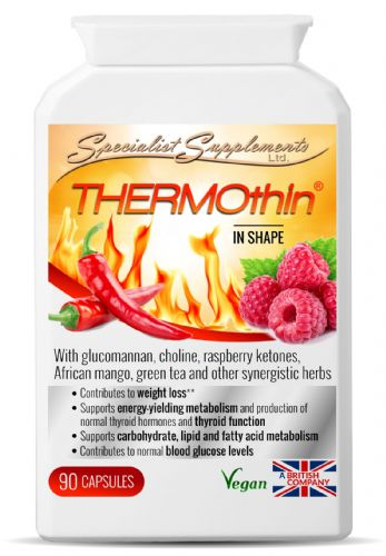 ThermoThin KETOburner Herbal Fat Burner Specialist Supplements